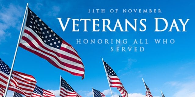 Calendar - Veterans Day