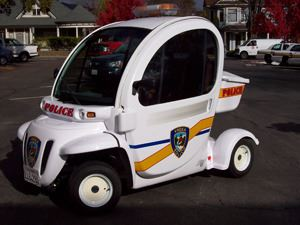 Parking Patrol Vehicle